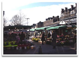Marché de la Place Saint Marc à Rouen